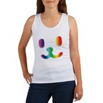 1 Smiley Rainbow Women's Tank Top