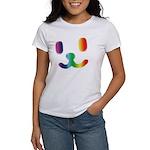 1 Smiley Rainbow Women's T-Shirt