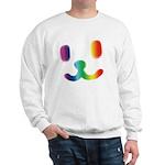 1 Smiley Rainbow Sweatshirt