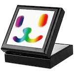1 Smiley Rainbow Keepsake Box