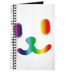 1 Smiley Rainbow Journal