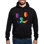 1 Smiley Rainbow Hoodie (dark)