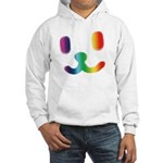 1 Smiley Rainbow Hooded Sweatshirt