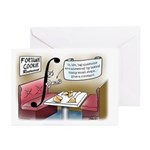 Fortune Cookie Greeting Cards (Pk of 10)