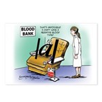 Blood Bank Postcards (Package of 8)
