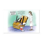 Blood Bank Mini Poster Print