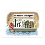 All Organic Postcards (Package of 8)