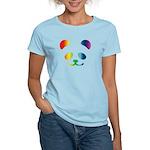 Panda Rainbow Women's Light T-Shirt