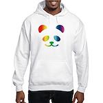 Panda Rainbow Hooded Sweatshirt