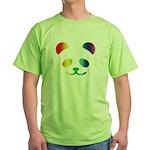 Panda Rainbow Green T-Shirt