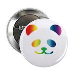 "Panda Rainbow 2.25"" Button (100 pack)"