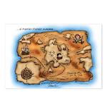 Treasure Map Postcards (Package of 8)