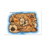 Treasure Map Mini Poster Print