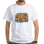 Treasure Map White T-Shirt