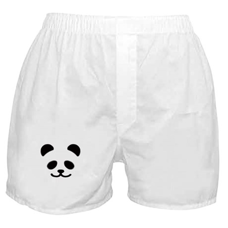 Smiley Panda Boxer Shorts