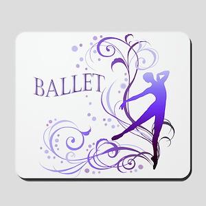 Ballet - scroll Mousepad