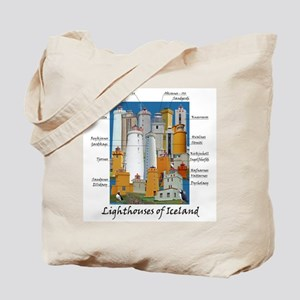 Lighthouses Of Iceland Tote Bag
