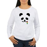 Panda Juicy Rainbow Women's Long Sleeve T-Shirt