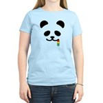 Panda Juicy Rainbow Women's Light T-Shirt