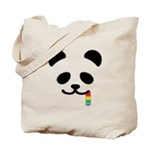 Panda Juicy Rainbow Tote Bag