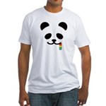 Panda Juicy Rainbow Fitted T-Shirt