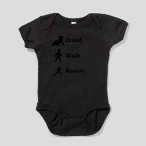 Crawl Walk Karate Body Suit