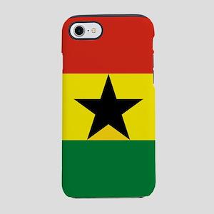 Flag: Ghana iPhone 7 Tough Case