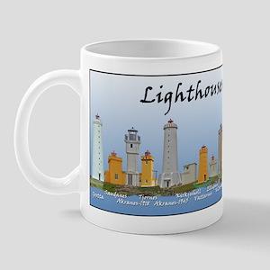 Lighthouses Of Iceland Mug Mugs