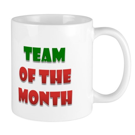 Team Of The Month Mug