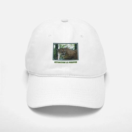 Endangered Florida Panther Baseball Baseball Cap