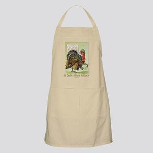 Duck Funny Thanksgiving BBQ Apron