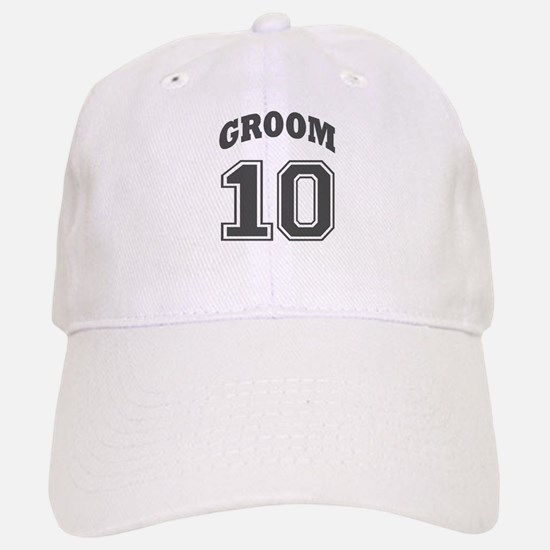 GROOM 2010 Baseball Baseball Cap
