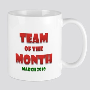 Team Of The Month March Mug