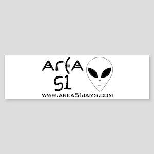 AREA 51 New Logo Bumper Sticker