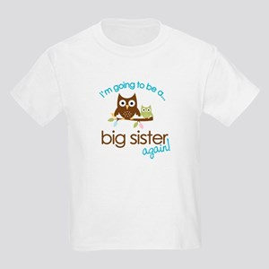 i'm going to be a big sister owl shirt Kids Light