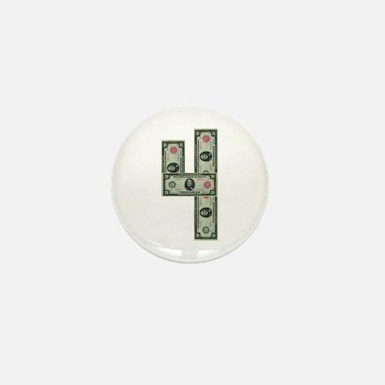 """""""420 Grover Cleveland"""" Mini Button"""