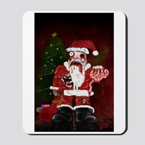Zombie Santa Mousepad
