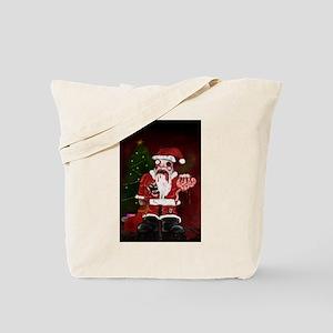 Zombie Santa Tote Bag