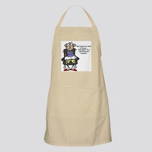 Gus on Marriage BBQ Apron