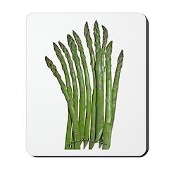 Fresh Asparagus Mousepad