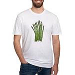 Fresh Asparagus Fitted T-Shirt