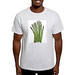 Fresh Asparagus Ash Grey T-Shirt