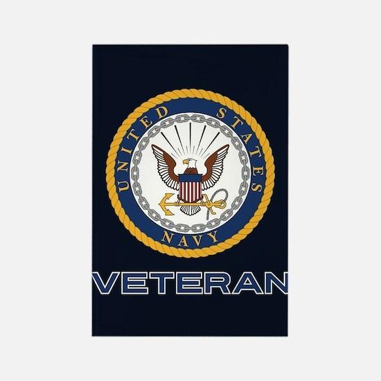U.S. Veteran Rectangle Magnet