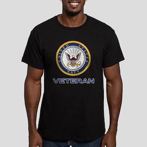 U.S. Veteran Men's Fitted T-Shirt (dark)
