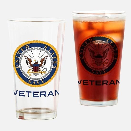 U.S. Veteran Drinking Glass