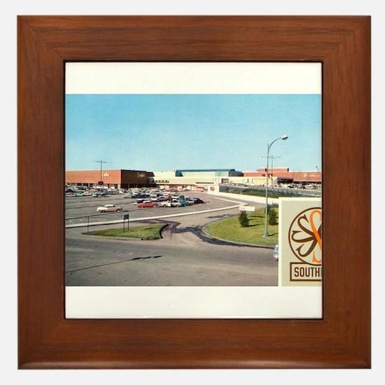 1950's Southdale Center Framed Tile