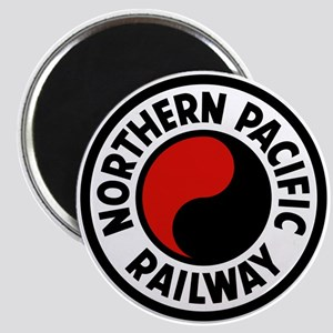 Northern Pacific Round Magnet