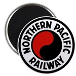 Northern Pacific Round Magnet (10 pack)