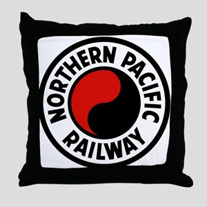 Northern Pacific Throw Pillow