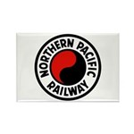 Northern Pacific Rectangle Magnet (100 pack)